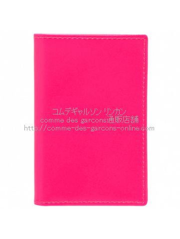 cdg-wallet-sa6400sf-superfluo-pink