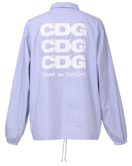 cdg-coach-jk-stripe