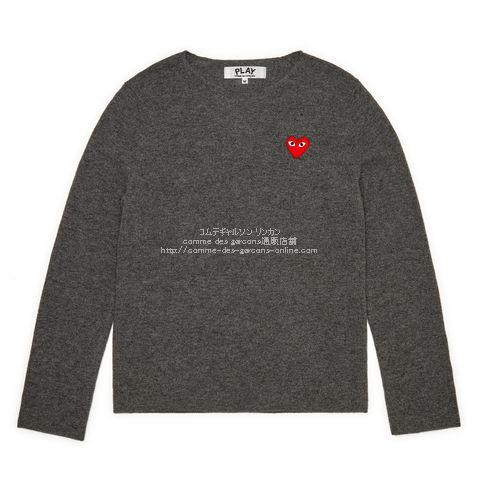 play-19-crewneck-knit-gray
