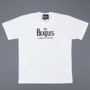 cdg-beatles-logo-tee