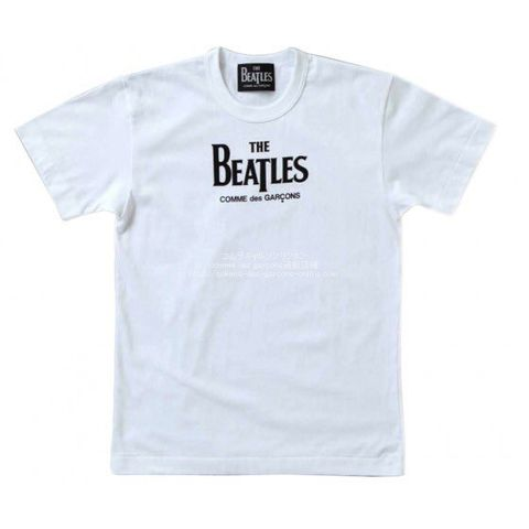 cdg-beatles-logo-tee