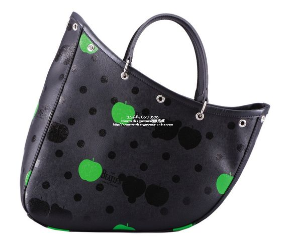 beatles-cdg-boat-bag-bk-printed
