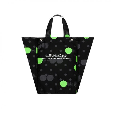 beatles-cdg-nylon-bag-bk