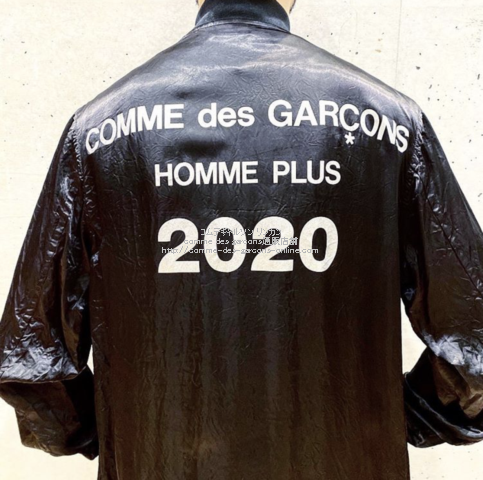 homme-plus-2020ss-logo-coat