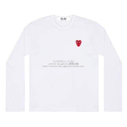 play-20aw-stackheart-longtee-wh