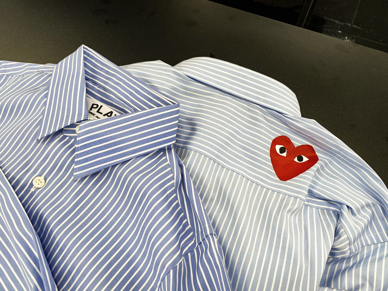 play-cdg-stripeshirt