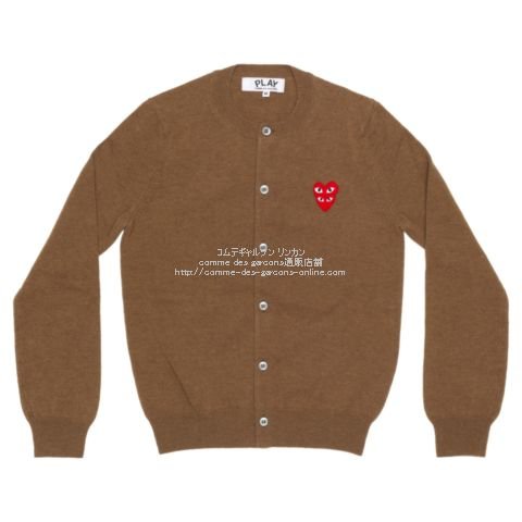 play-20aw-cardigan-brown