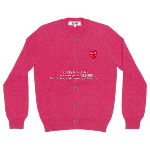 play-20aw-cardigan-pink