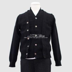 blackcdg-20aw-docking-cardigan