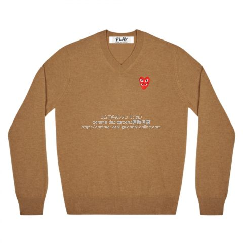 play-20aw-vknit-brown
