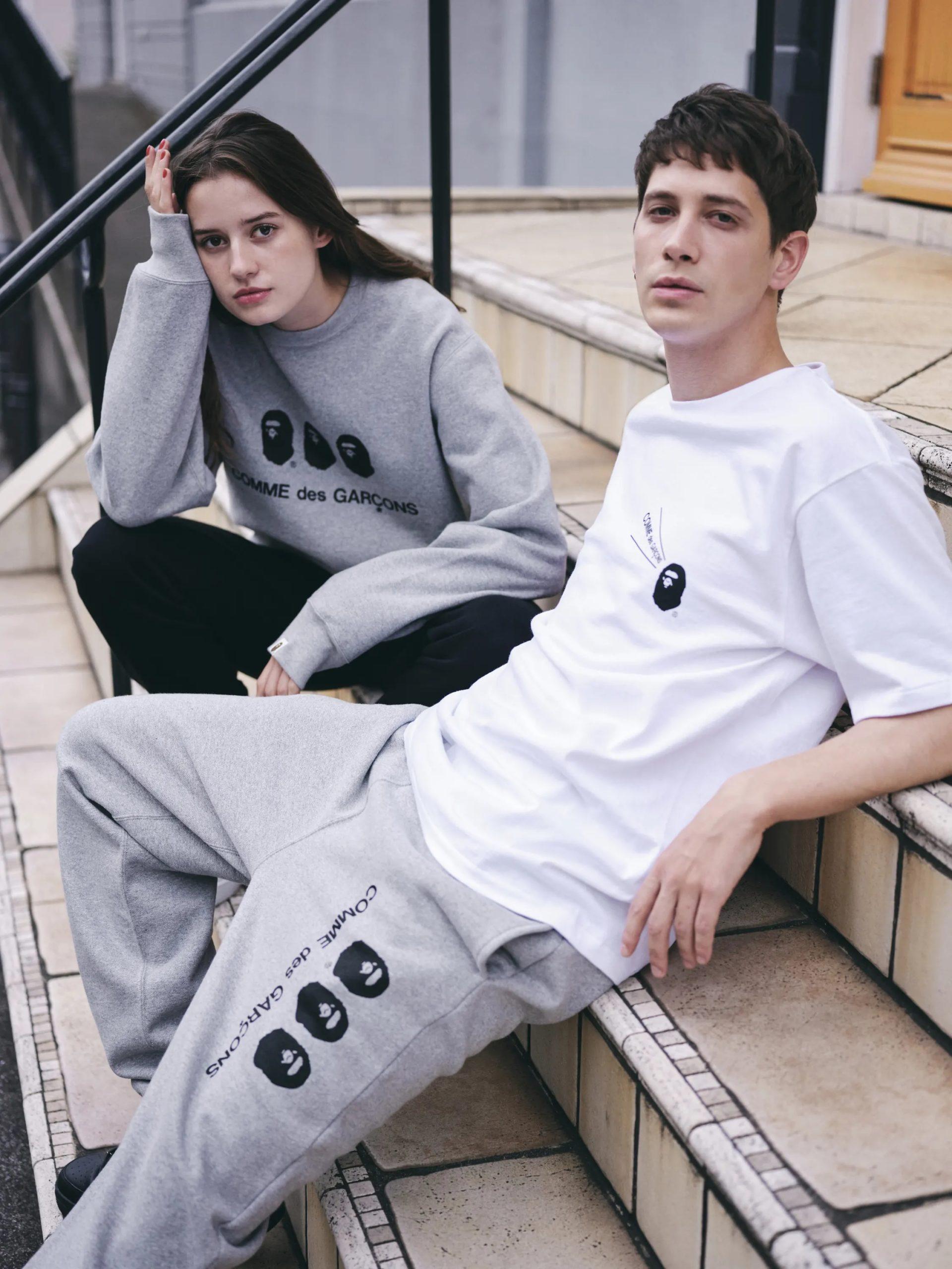 batpe-cdg-20aw-swetpants
