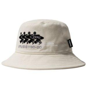 cdg-20aw-styssy-hat