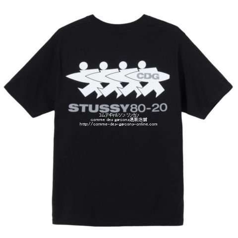 cdg-20aw-styssy-tee