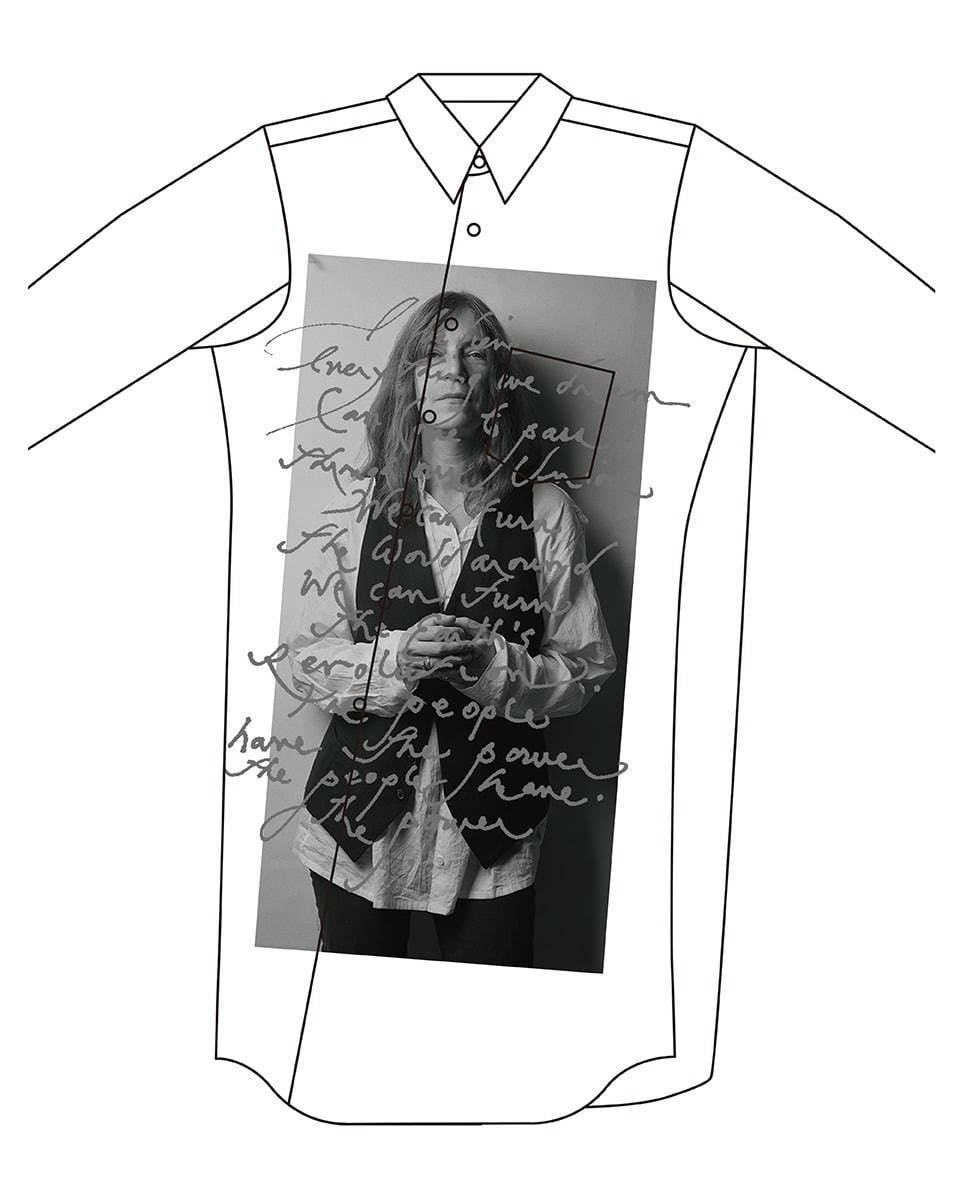 cdg-pattismith-switch-tee
