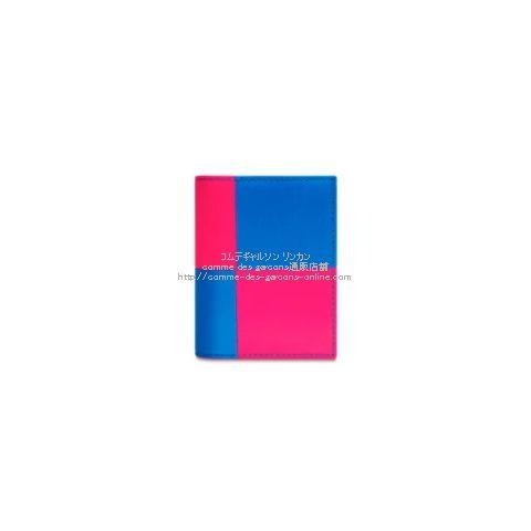 cdg-wallet-sa0641fs-pink-blue