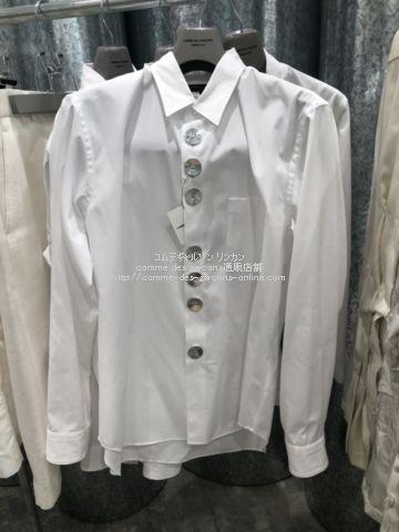 hommeplus-21ss-blouse-silverbutton