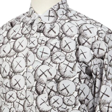 cdgshirt-21aw-kaws-blouse-c