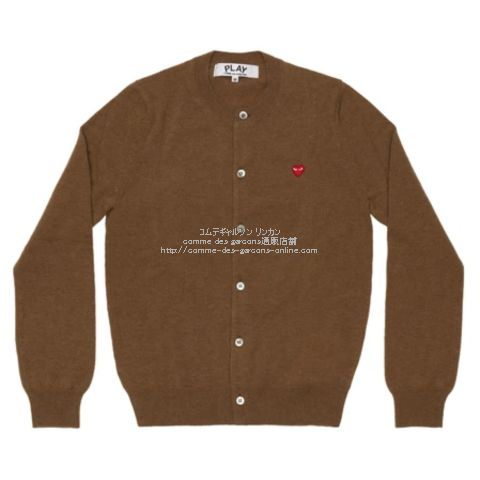 play-21aw-cardigan-brown